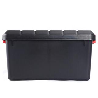 安马 家车多用途密封后备箱收纳箱 H600 40升 黑色