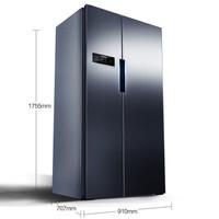 SIEMENS 西门子 SIEMENS/西门子冰箱双开门家用家电变频风冷无霜速冻对开门两门610升电冰箱KA92NV66TI 高配拉丝不锈