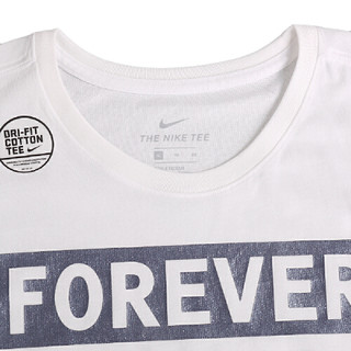 NIKE 耐克 906099-100 男子圆领短袖T恤
