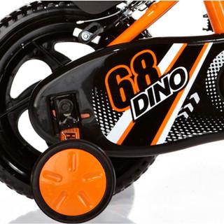 Happy Dino 小龙哈彼 LB1230Q-K115 儿童自行车 12寸自行车 橙色