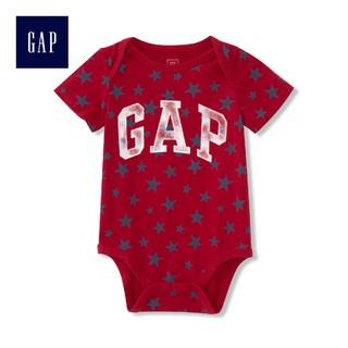 Gap 盖璞 P633382 纯棉新生儿短袖哈衣