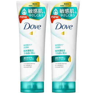 Dove 多芬 温和净嫩洁面乳 130g*2
