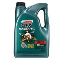 Castrol 嘉實多 GTX MAGNATEC 磁護 SN 0W-20 全合成機油 5Qt 美國原裝進口