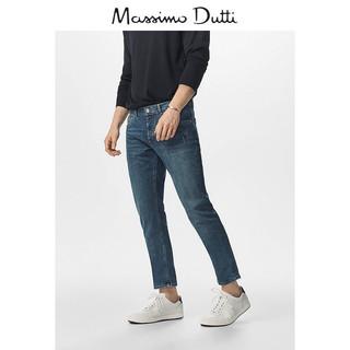 Massimo Dutti 00033043405 男士修身牛仔裤
