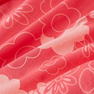当当优品 纯棉斜纹印花枕罩 48*74cm