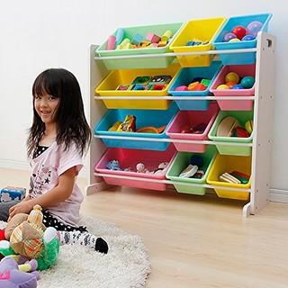 IRIS 爱丽思 THR-4 多功能彩色儿童玩具架收纳储物架置物架