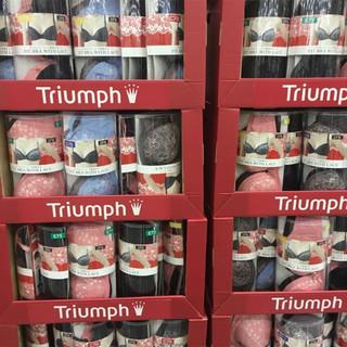 Triumph 黛安芬 舒适聚拢文胸 黑色+粉色 2件装