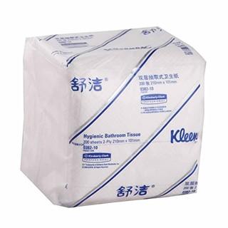 kleenex 舒洁 双层抽取式卫生纸 200张/包
