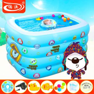 诺澳 婴儿游泳池套装