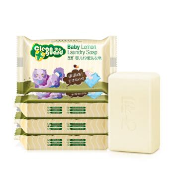 Springbuds 子初 婴儿柠檬洗衣皂 150g*5包