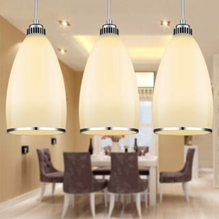 nvc-lighting 雷士照明 EUD9002 LED餐厅三头吊灯