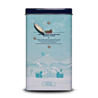OWL 猫头鹰 圣诞八音盒薄荷白咖啡(60周年限量版) 288g