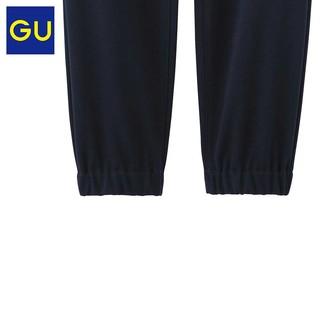 GU 极优 284312 男士针织束脚裤