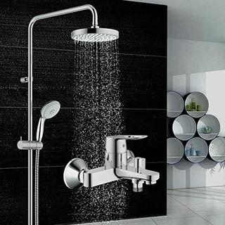 GROHE 高仪 126216 新天瀑淋浴系统 + 浴缸龙头套装