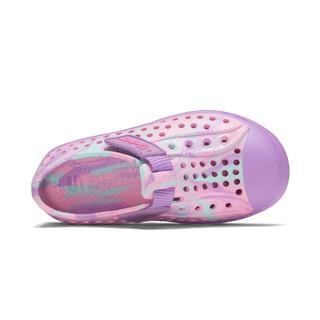 SKECHERS 斯凯奇 86707 女童魔术贴洞洞鞋