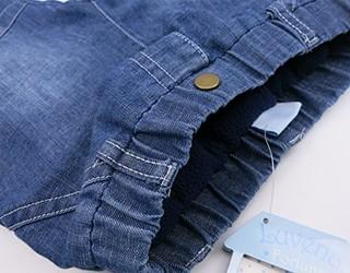 Luvena Fortuna 英国小木马 K11615 K11615 男婴夹棉加厚牛仔裤