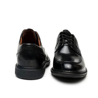 Clarks UN 优越系列 Rage Oxford 男款真皮商务休闲鞋