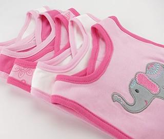 Hudson Baby 50971 纯棉口水巾 5件装