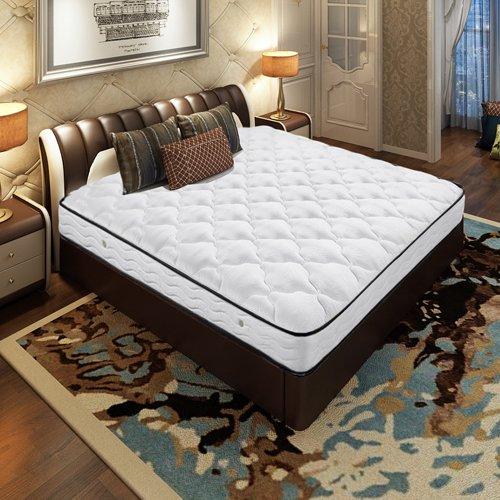 AIRLAND 雅兰 舒伯特 真皮双人床+金梦豪 独立袋弹簧床垫 1.8x2.0m