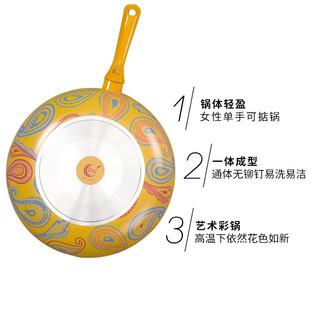 TVS 平底不粘锅 32cm+锅盖套装 + 硅胶锅铲