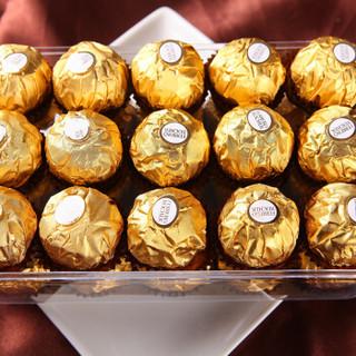 Ferrero Rocher 费列罗 榛子牛奶巧克力 30粒 375g
