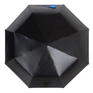 MAYDU 美度 Black系列 M3331 小黑伞 女士三折防晒遮阳伞  蓝色