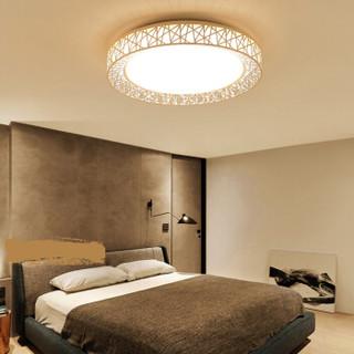 SDhouseware 首度家居 鸟巢 ZYTC05 LED简约客厅吸顶灯套装