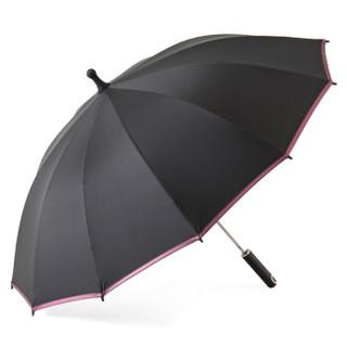 美度(MAYDU)圆美系列12K防风雨伞长柄男士商务加大晴雨伞 M1120紫色