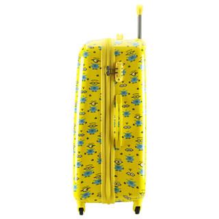 DELSEY 法国大使 625 小黄人拉杆箱 24英寸 黄灰色