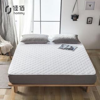佳佰 菱形格床护垫 白色 150*200cm