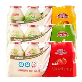 界界乐(Jelley Brown)乳酸菌饮料 混合口味 100ml*20瓶 缤纷礼盒装(多种口味随机发货)