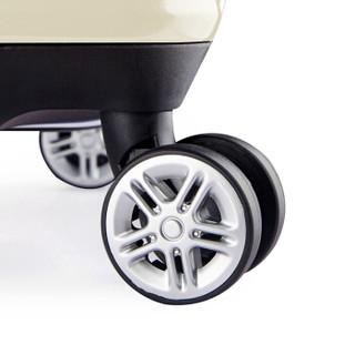 BINHAO 宾豪 1549KA 万向轮拉杆箱 24英寸 淡米白色