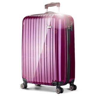 BINHAO 宾豪 E4E4HA 万向轮拉杆箱 24英寸 紫色
