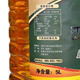 优选工坊 压榨一级 亚麻籽油 5L