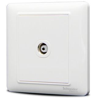 Schneider Electric 施耐德 睿意系列 A3E51TV 有线电视插座 白色