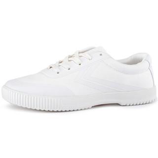 FEI YUE 飞跃 8102 中性帆布鞋 纯白 44码