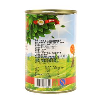 营养果元 黄桃罐头 425g