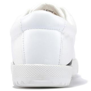 FEI YUE 飞跃 8102 中性帆布鞋 白黑 43码