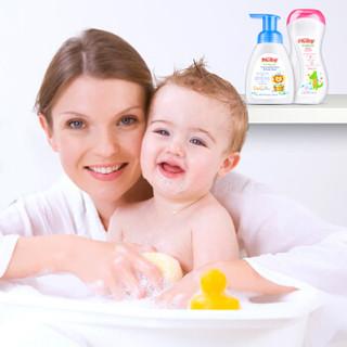 Nuby 努比 婴儿洗发沐浴露二合一 250ml+宝宝护肤乳液 275ml