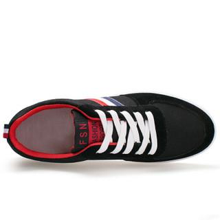 Precentor 普若森 HL15 男士休闲帆布鞋 黑色 44码