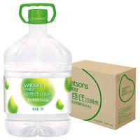 屈臣氏(Watsons)飲用水(蒸餾制法) 105℃高溫蒸餾 旅行聚會必備 家庭用水 8L*2桶 整箱裝 *3件