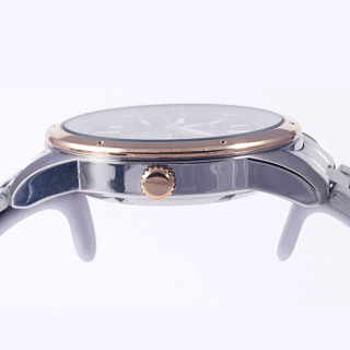 SEIKO 精工 5号 SPORTS系列 自动上链机械避震防水男表 SNKN68J1 43mm 棕色 银色 不锈钢