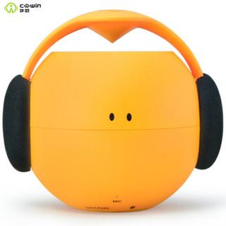 咔哟 音响 音箱 蓝牙音响 低音炮4.0无线便携迷你小手机户外防水音响 YOYO橙色