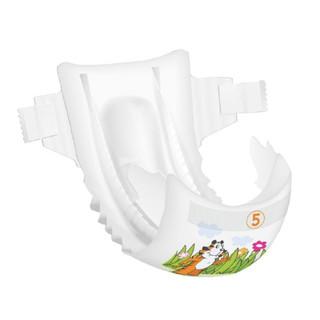 Bambo 班博 自然环保纸尿裤试用装SML组合6片+湿巾80抽套组