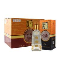 京东PLUS会员:白云边 白酒 十二年陈酿 浓酱兼香型 42度 500ml*6瓶
