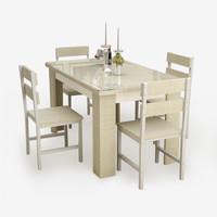 雅美乐 YCZ703 钢化玻璃餐桌