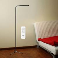 优洋LED落地灯遥控 客厅茶几卧室床头书房简约现代落地台灯钢琴灯阅读灯 UY-F9