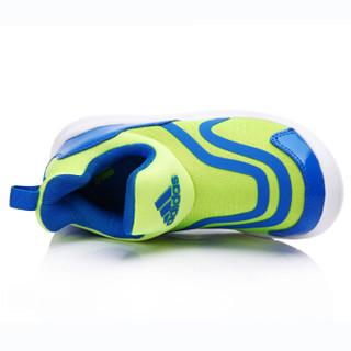 adidas 阿迪达斯 小海马儿童训练鞋 黄荧光 31码