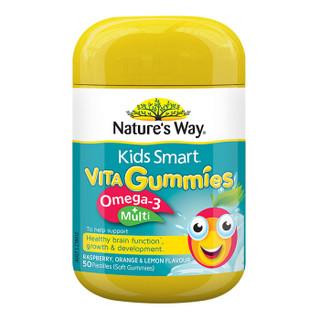 Nature's Way 澳萃维 儿童DHA维生素软糖 50粒