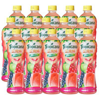 Tropicana 纯果乐 果缤纷 蜜桃樱桃味 450ml+50ml
